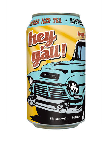 Hey Y'all Southern Iced Tea - 6 Cans