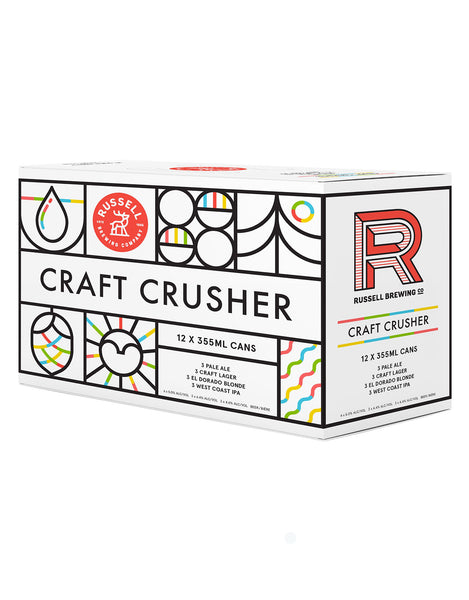 Russell Craft Crusher Mixed Pack - 12 Cans