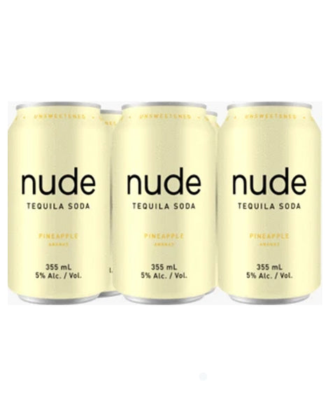 Nude Tequila Soda Pineapple 355 ml - 6 Cans