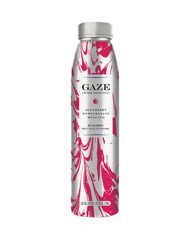Gaze Blueberry Pomegranate Moscato Wine Cocktail - 375 ml