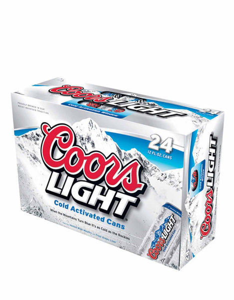 Coors Light - 24 Cans