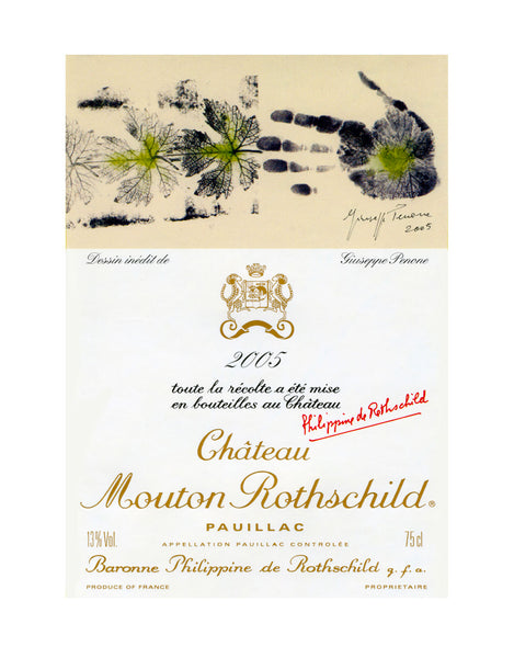 Chateau Mouton Rothschild - 3 Litre Bottle