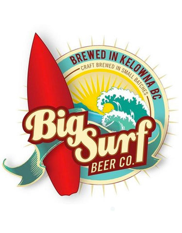 Big Surf Laid Back Lager - 50 Litre Keg