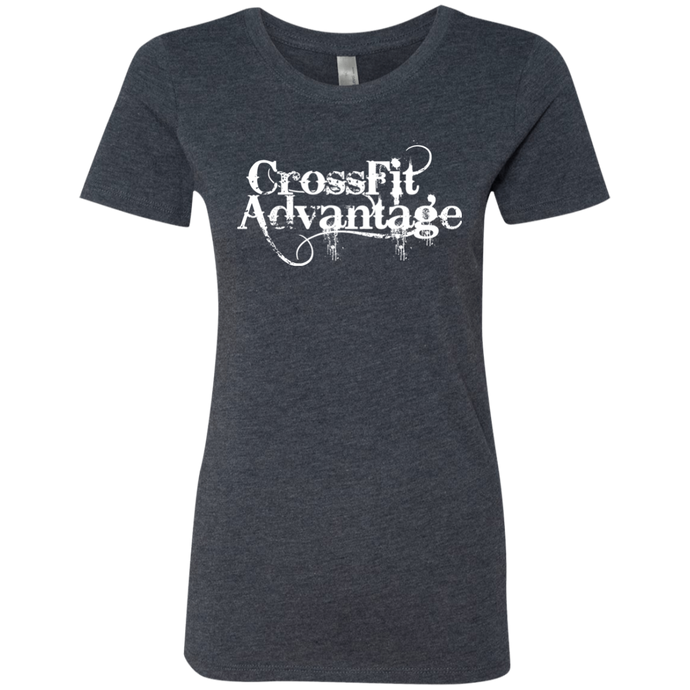 Throwback CrossFit Advantage - Next Level Ladies' Triblend Tee