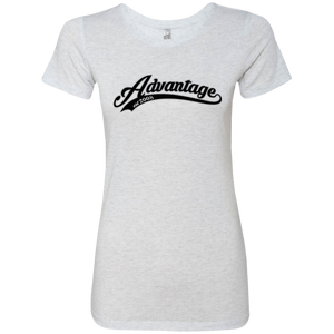 Advantage Jersey Script - Next Level Ladies' Tee