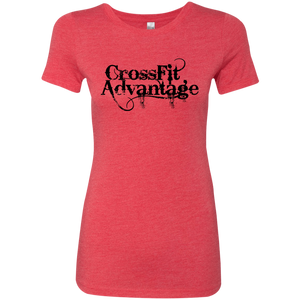 Throwback CrossFit Advantage - Next Level Ladies' Tee
