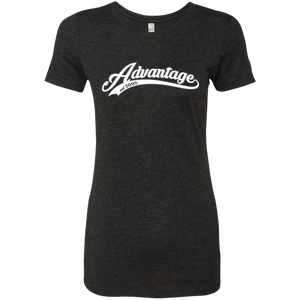 Advantage Jersey Script - Next Level Ladies' Triblend Tee