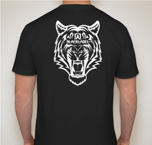 Load image into Gallery viewer, Men's Black Tee w/ Tiger Back