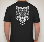Men's Black Tee w/ Tiger Back