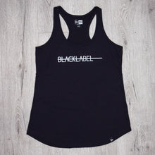 Load image into Gallery viewer, Black Label Ladies Racerback Tank Top