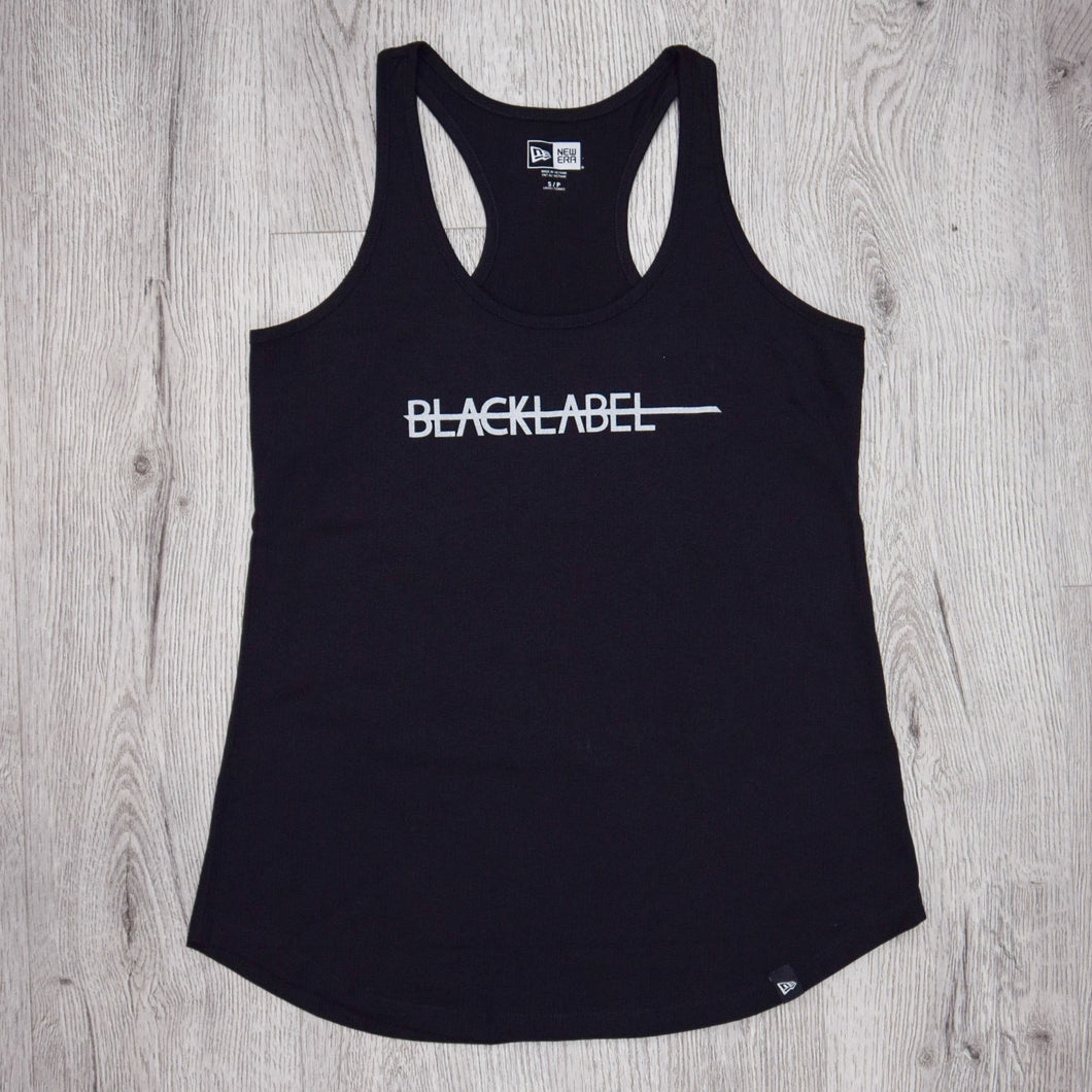 Black Label Ladies Racerback Tank Top