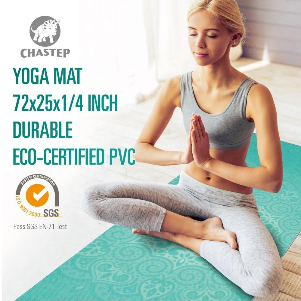 Chastep Yoga mat (ECO Certified PVC)