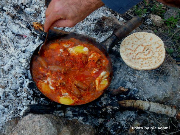 Shakshuka - campfire dish recipe that will blow your mind!