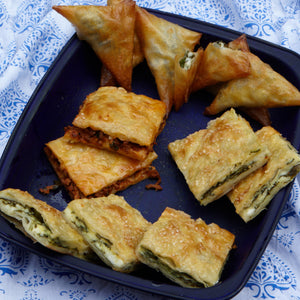 Spinach and Cheese pie – Ispanakli, Peynirli Borek