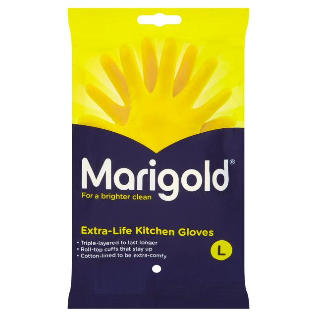 Marigold Kitchen Gloves- Large