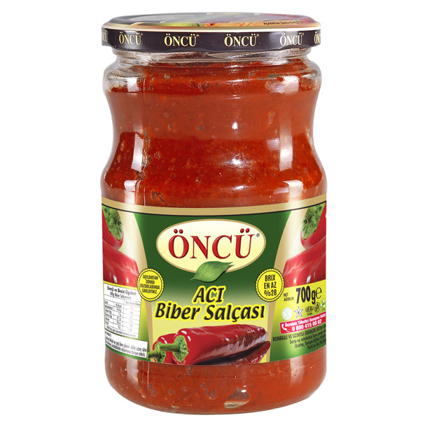 Oncu Hot Pepper Paste (Salca)
