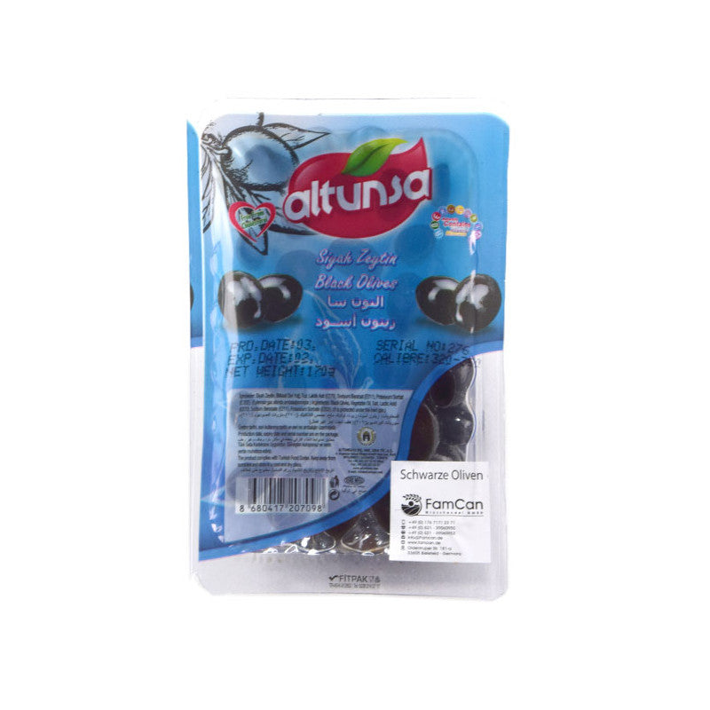 Altunsa Black Olives Small