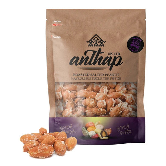Anthap Roasted and Salted Peanuts with skin