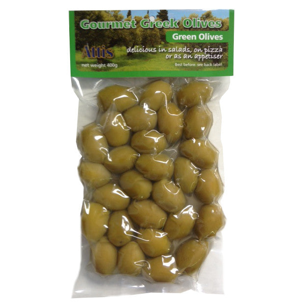Attis Green Olives