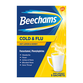 Beechams Cold and Flu Honey Lemon
