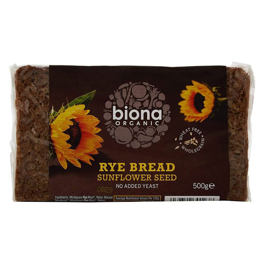 Biona Organic Rye and Sunflower Seed Bread