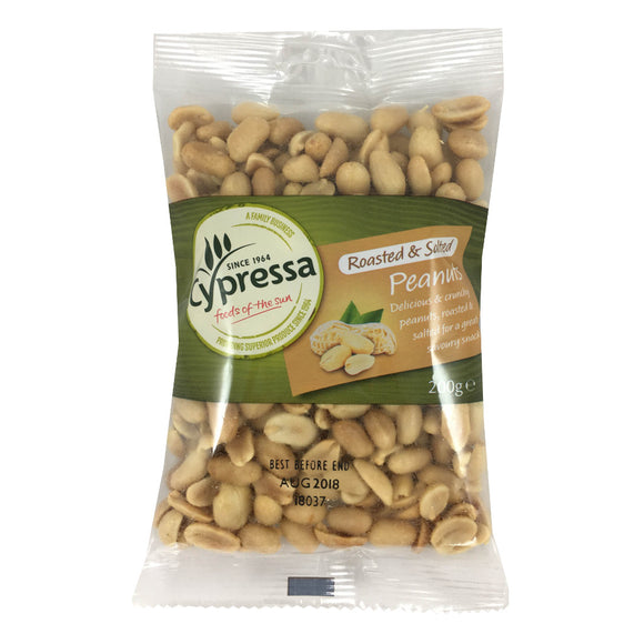 Cypressa Roasted And Salted Peanuts