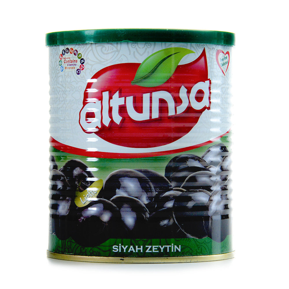 Altunsa Black Olives Tin