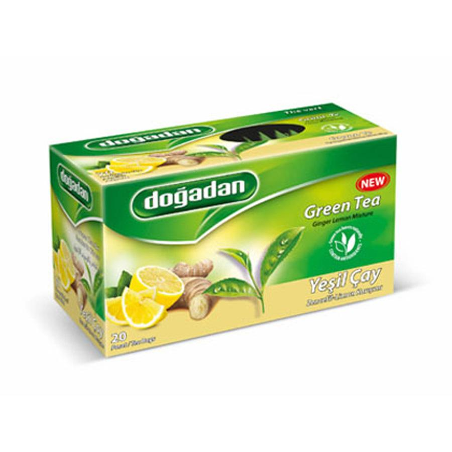 Dogadan Green Tea with Ginger and Lemon