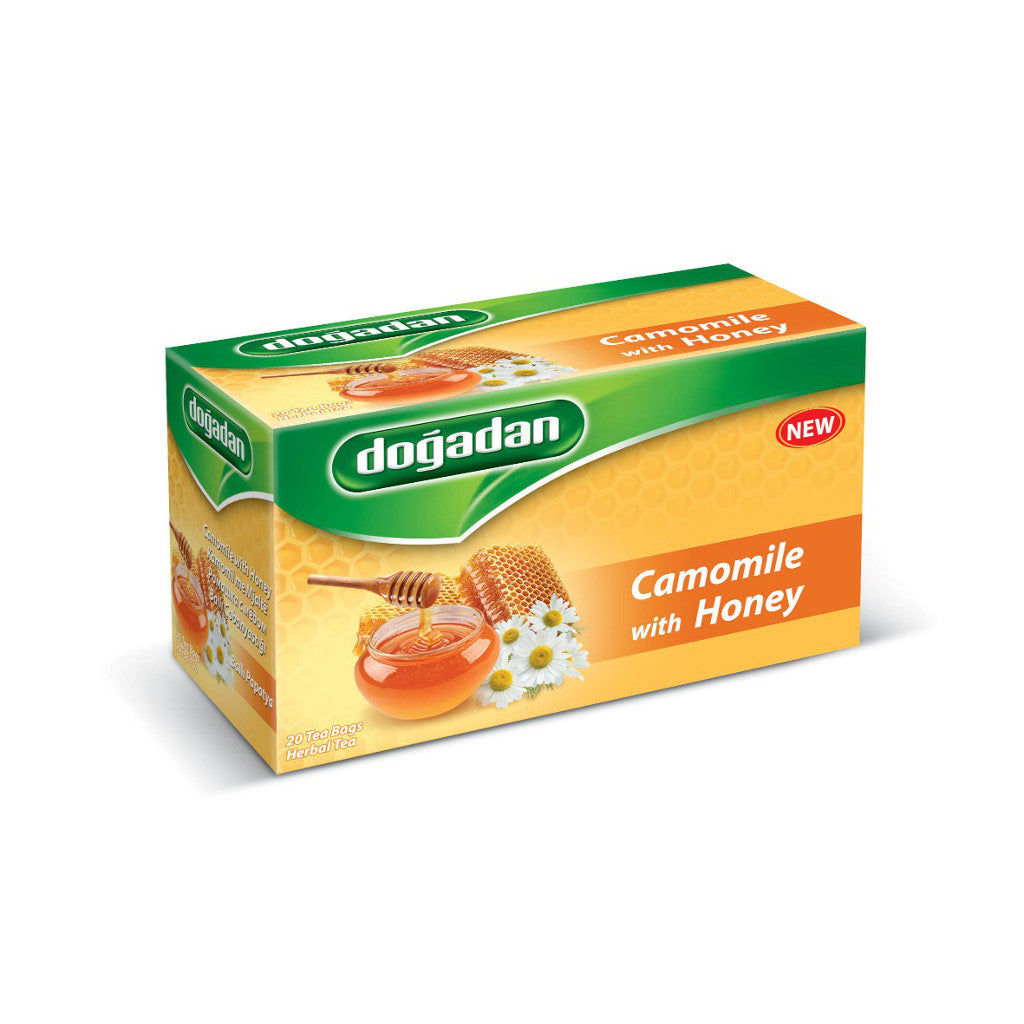 Dogadan Camomile Herbal Tea with Honey