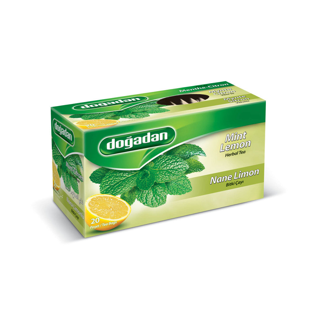 Dogadan Herbal Tea With Mint Lemon