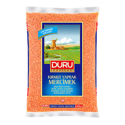 Duru Red Split Lentils
