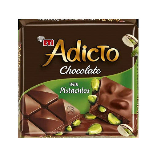 Eti Adicto Chocolate With Pistachios