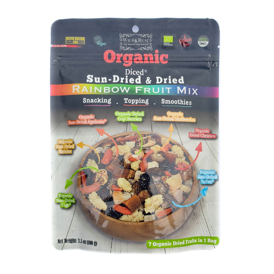 Organic FitFit Rainbow Fruit Mix