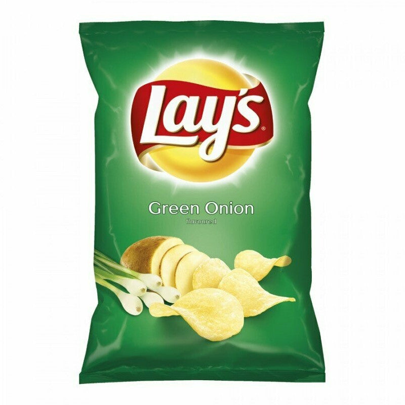 Lays Green Onion Crisps