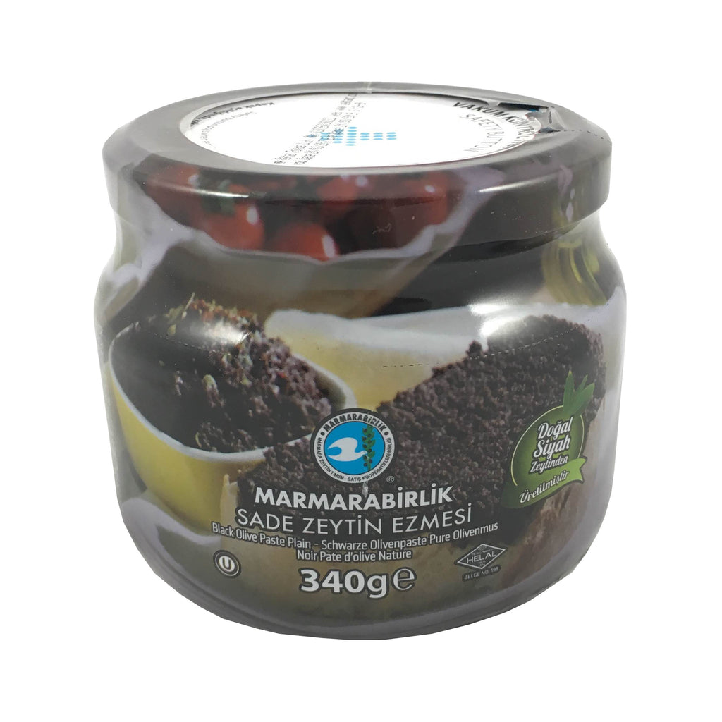 Marmarabirlik Black Olive Paste Plain