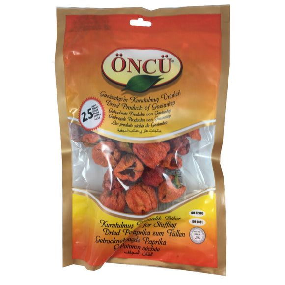 Oncu Dried Pepper For Stuffing (Dolmalik Biber)