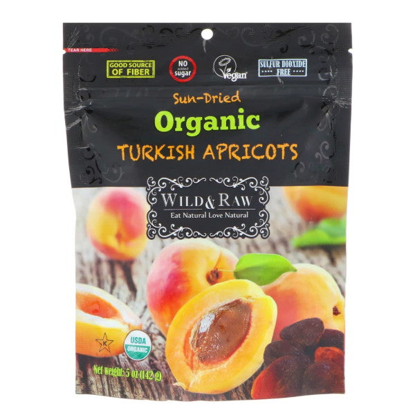 Organic Turkish Sun-Dried Apricots