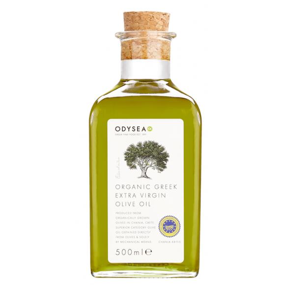 Odysea Organic PGI Chania Extra Virgin Olive Oil
