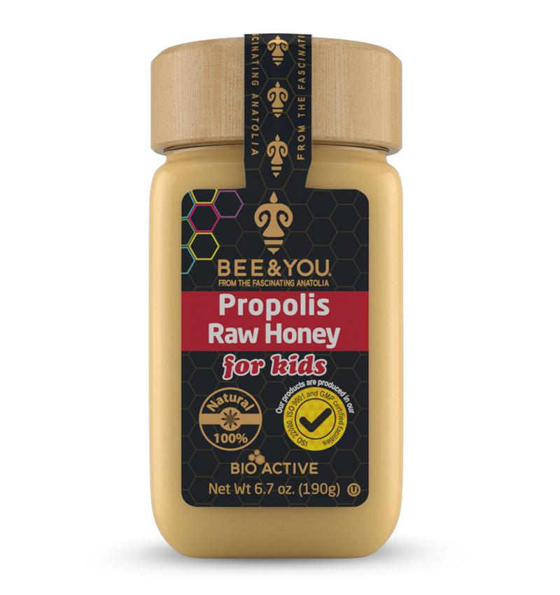 BEE & YOU Propolis Raw Honey For Kids