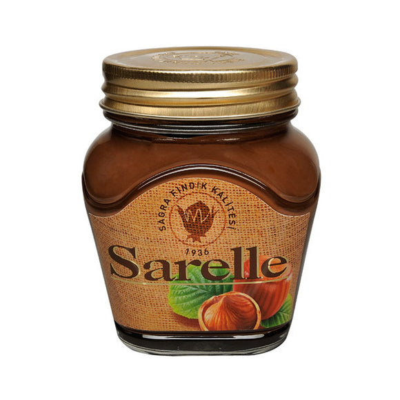 Sarelle Hazelnut Spread With Cocoa (Kakaolu Findik Ezmesi)