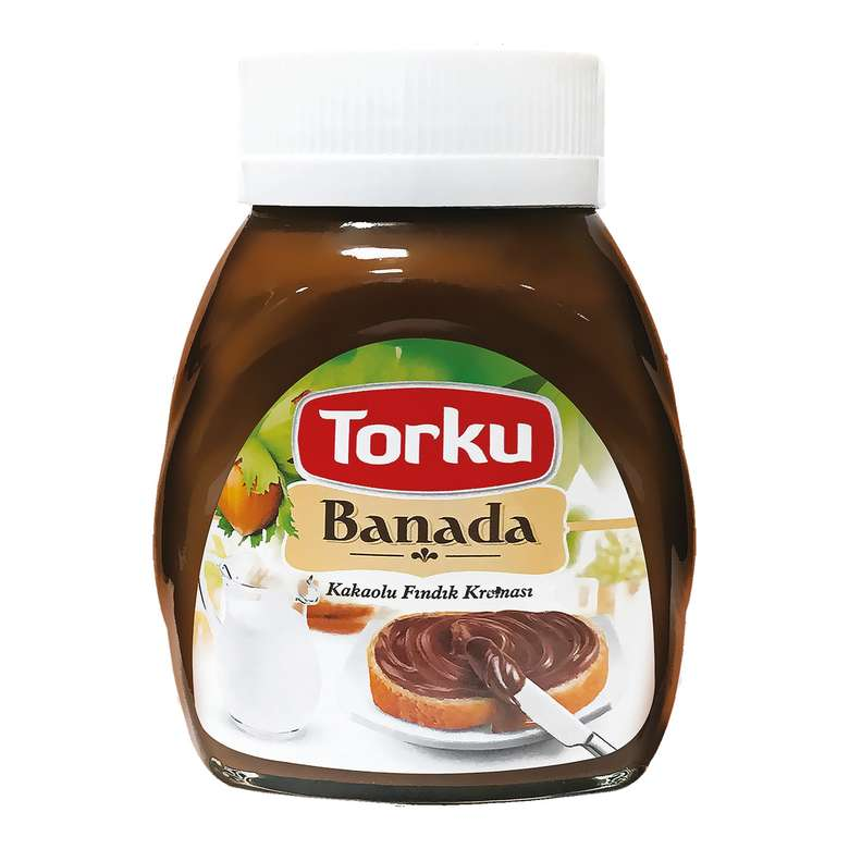 Torku Hazelnut Spread With Cocoa (Kakaolu Findik Ezmesi)