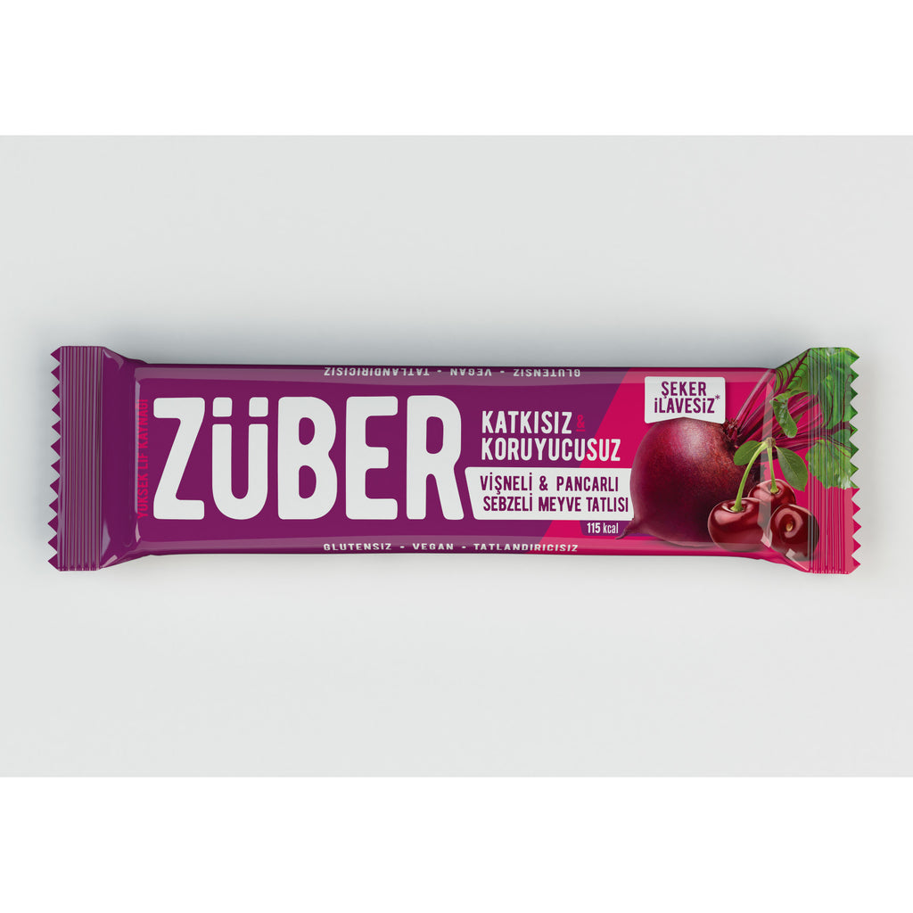 Zuber Beetroot and Sour Cherry Veggie Bar