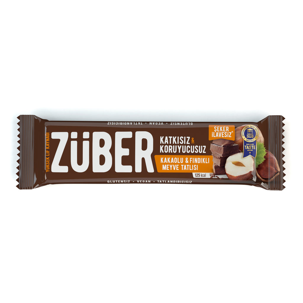 Zuber Cacao and Hazelnut Bar