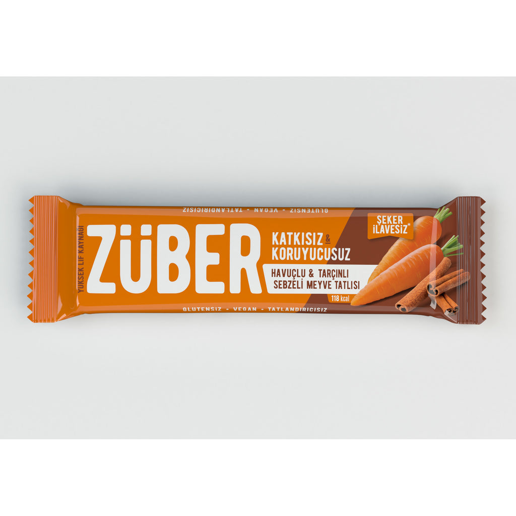 Zuber Carrot and Cinnamon Veggie Bar