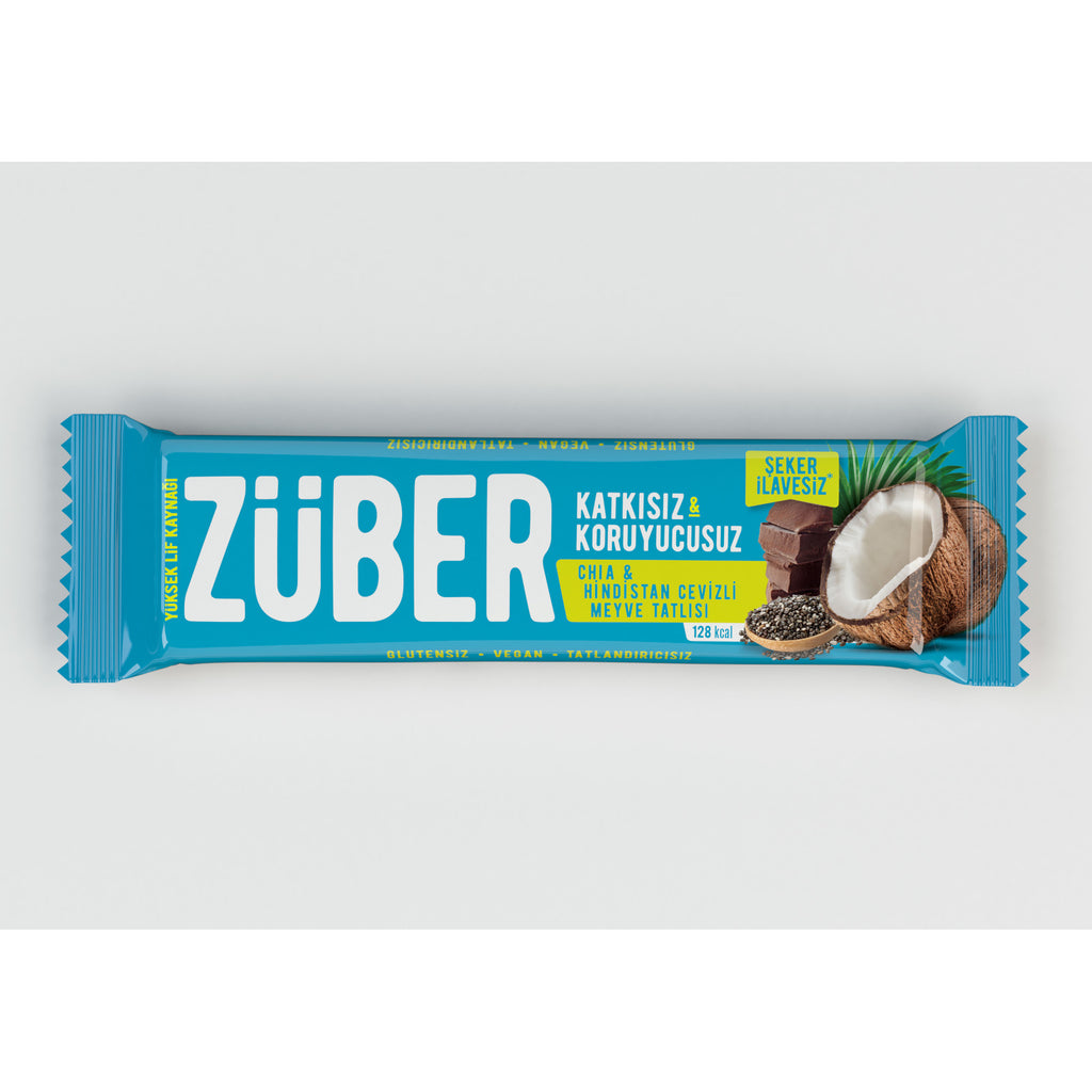 Zuber Coconut and Chia Bar