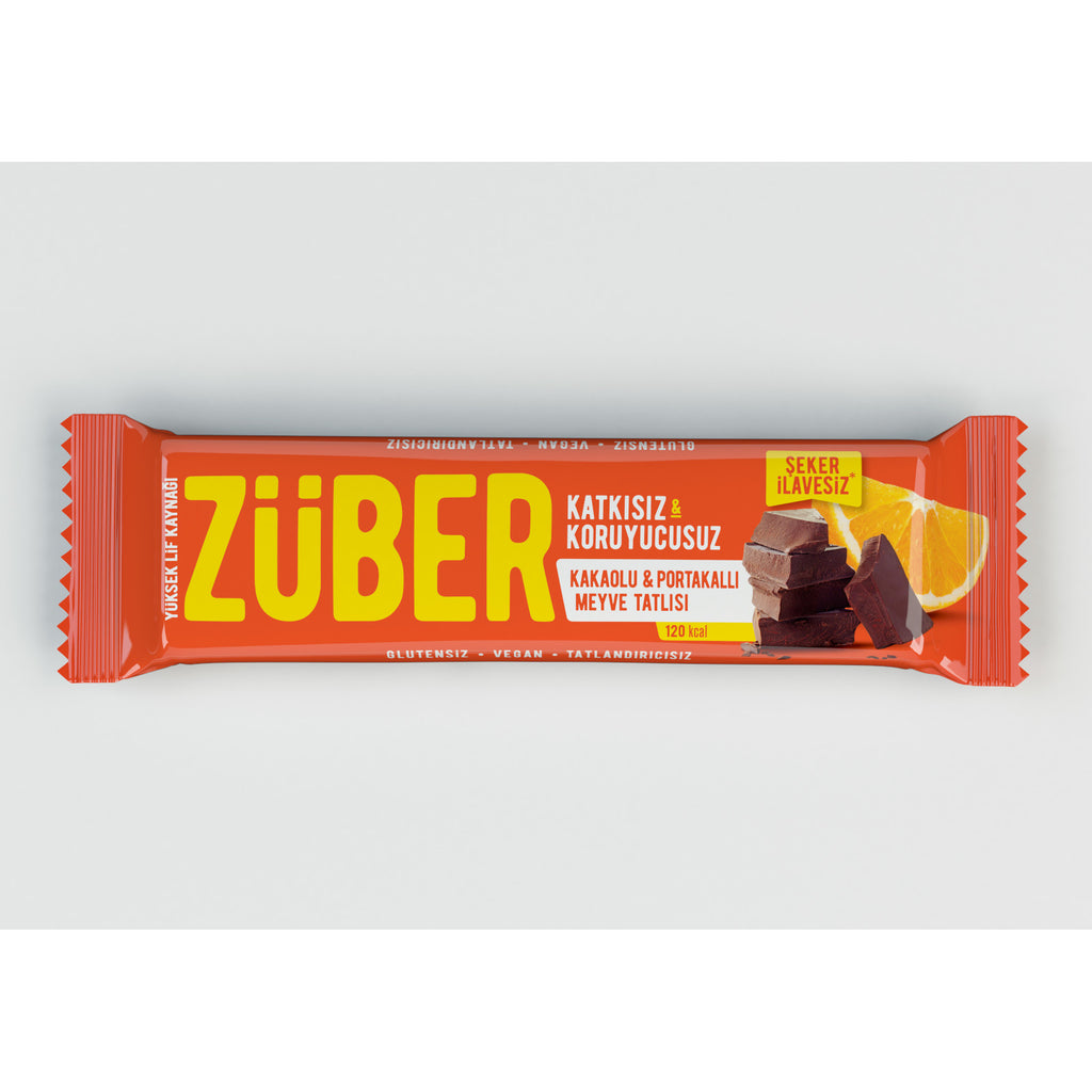 Zuber Cacao and Orange Bar