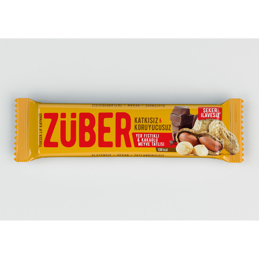 Zuber Peanut and Cacao Bar