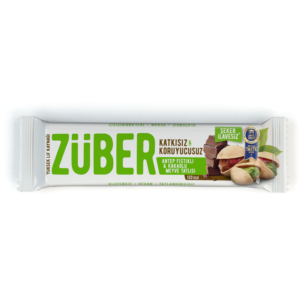 Zuber Pistachio and Cacao Bar
