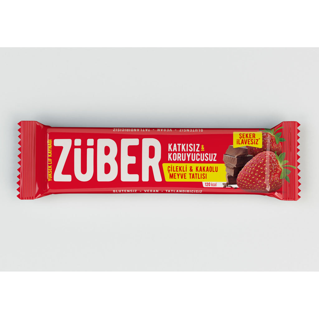 Zuber Strawberry and Cacao Bar