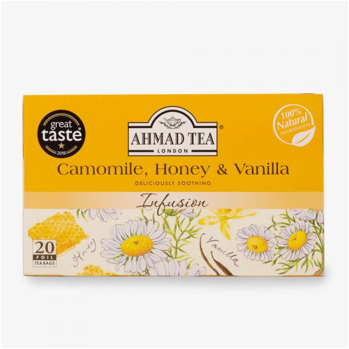 Ahmad Tea Camomile,Honey & Vanilla